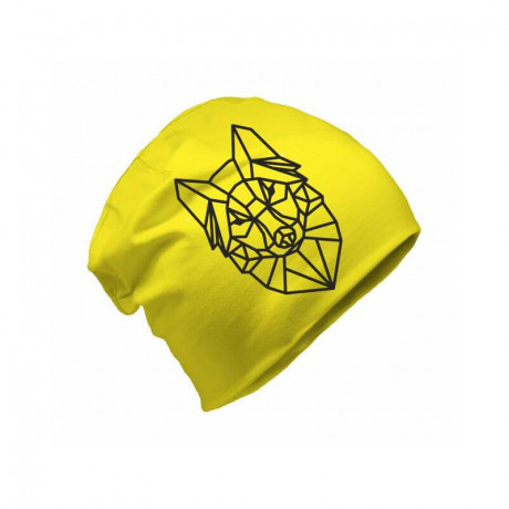 Шапка Бини со светоотражающим элементом Refloactive (желтый)