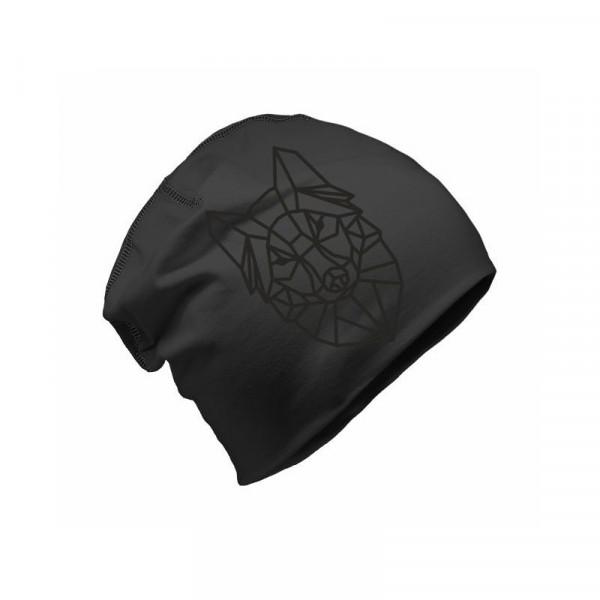 Шапка Бини со светоотражающим элементом Refloactive (черный)