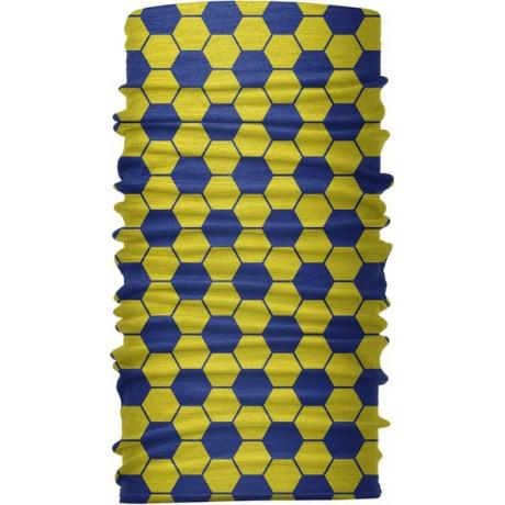 """Бандана-трансформер (бафф), """"Мяч сине-желтый"""""""