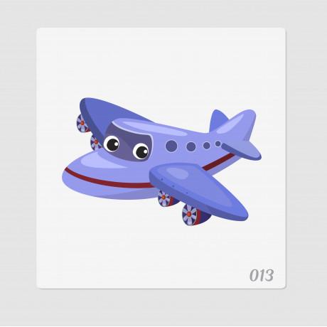 """Иллюстрация """"Самолетик"""""""