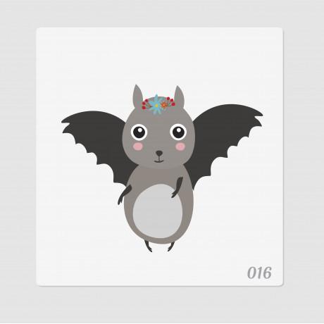 """Иллюстрация """"Летучая мышка"""""""