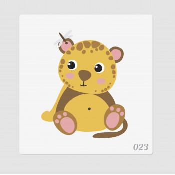 """Иллюстрация """"Леопард"""""""