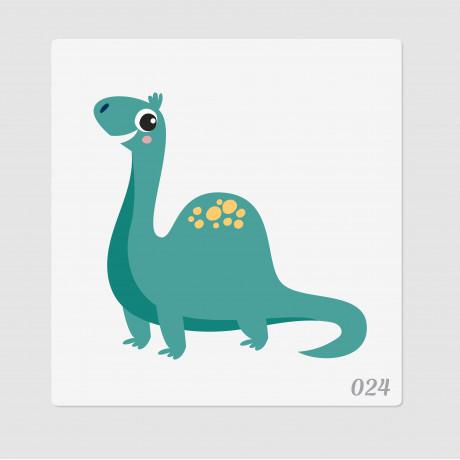 """Иллюстрация """"Динозаврик"""""""