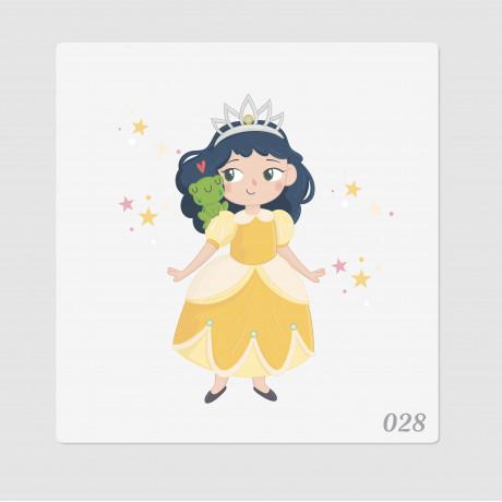 """Иллюстрация """"Принцесса и лягушка"""""""