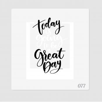 """Иллюстрация """"Today great day"""""""
