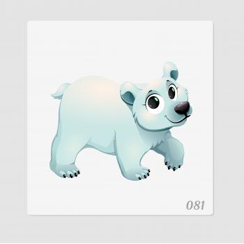 """Иллюстрация """"Белый медведь"""""""