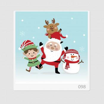 """Иллюстрация """"Дед Мороз и..."""