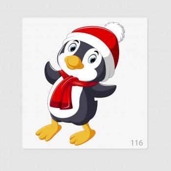 """Иллюстрация """"Пингвиненок 3"""""""