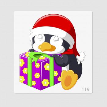 """Иллюстрация """"Пингвиненок с..."""