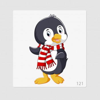 """Иллюстрация """"Пингвиненок 7"""""""