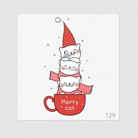 """Иллюстрация """"Merry cat"""""""
